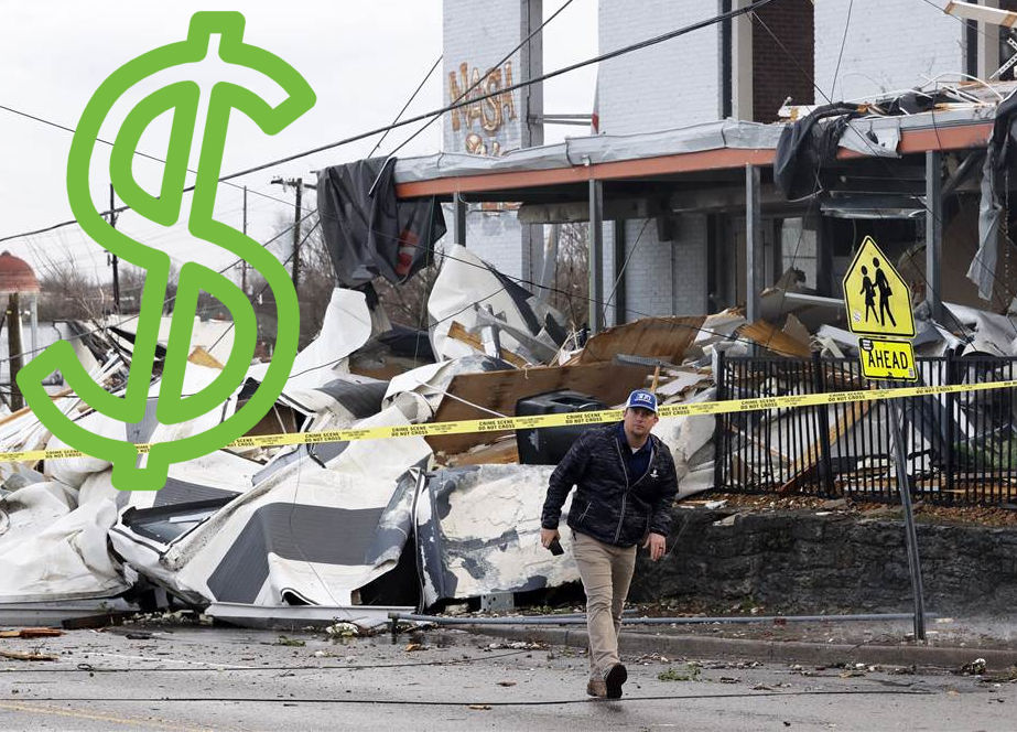 Nashville Insurance Claims That Are Denied, May Amount To Millions As Buildings like This One Are Destroyed