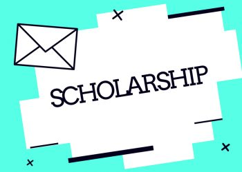 Handwriting text Scholarship. Concept meaning Grant or Payment made to support education Academic Study.